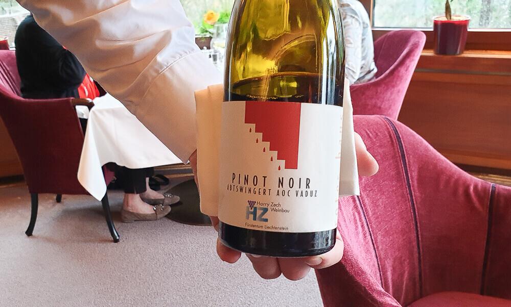 Restaurant Marée, Vaduz - grandioser Wein