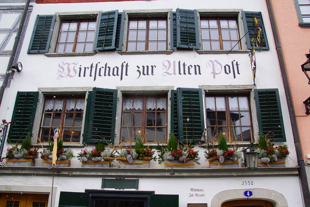 Wirtshaus zur Alten Post, St. Gallen - Außenansicht