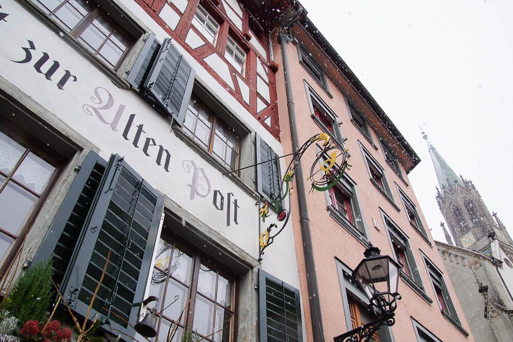 Wirtshaus zur Alten Post, St. Gallen - Hausansicht 2