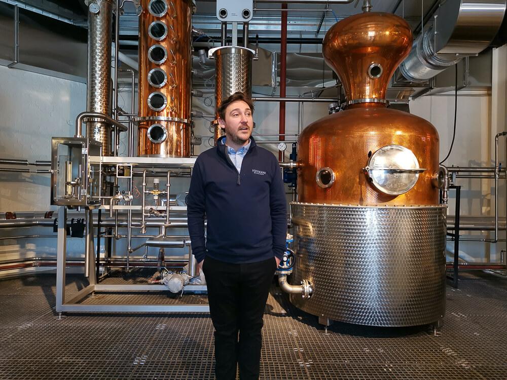 Haymans Gin - Beschreibung des Prozesses der Herstellung