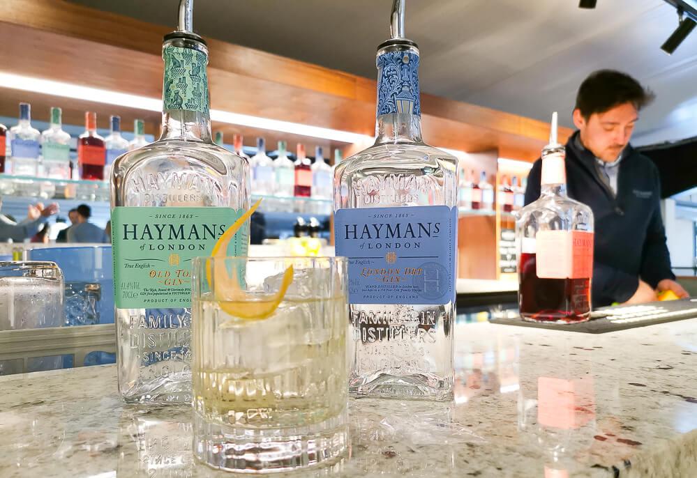 Haymans Gin - Die Bar und der Gin Tonic