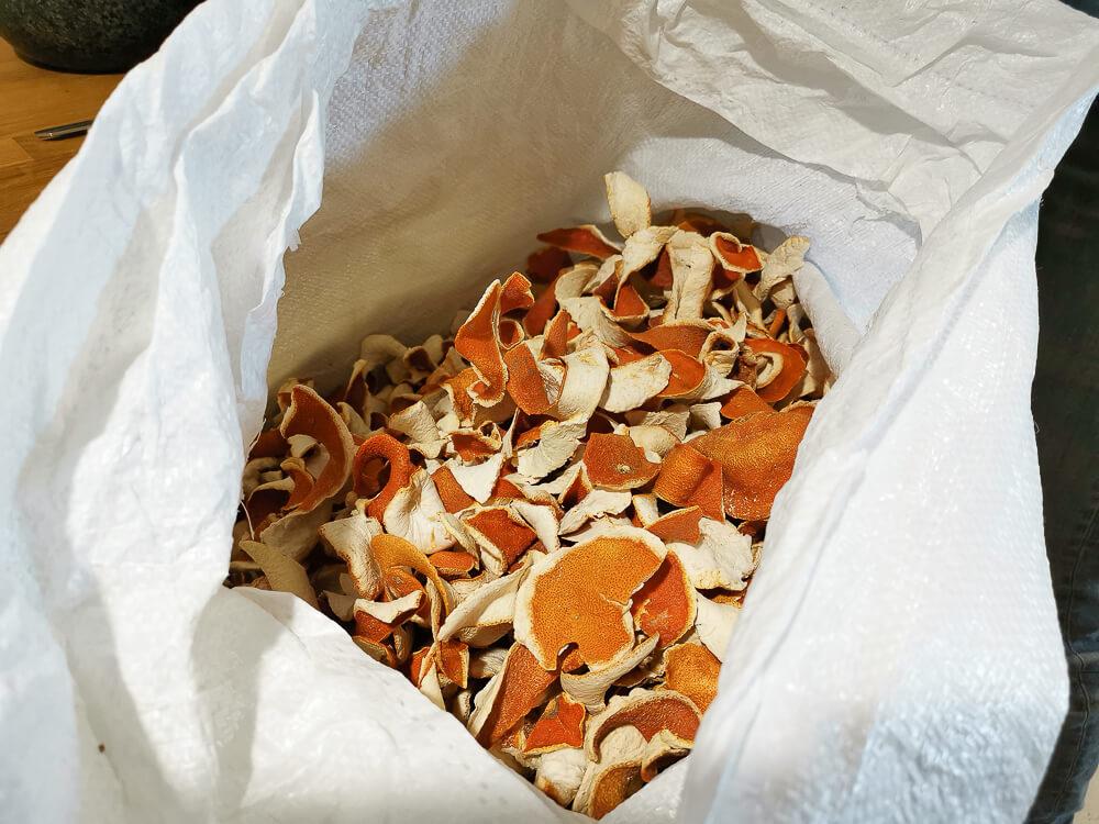 Haymans Gin - Orangenschalen für die Ginherstellung