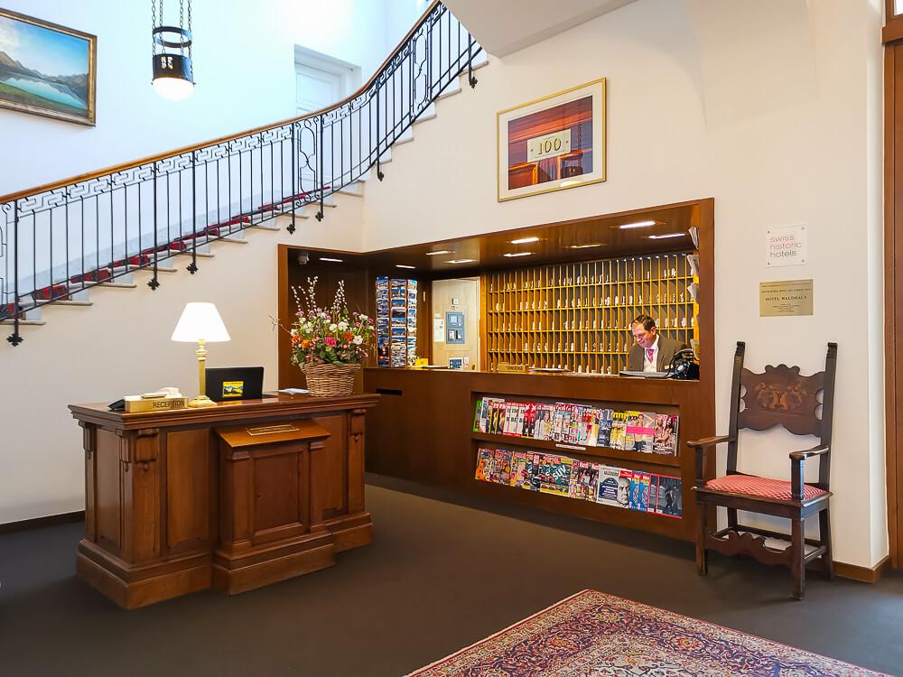 Hotel Waldhaus Sils - Lobby 1