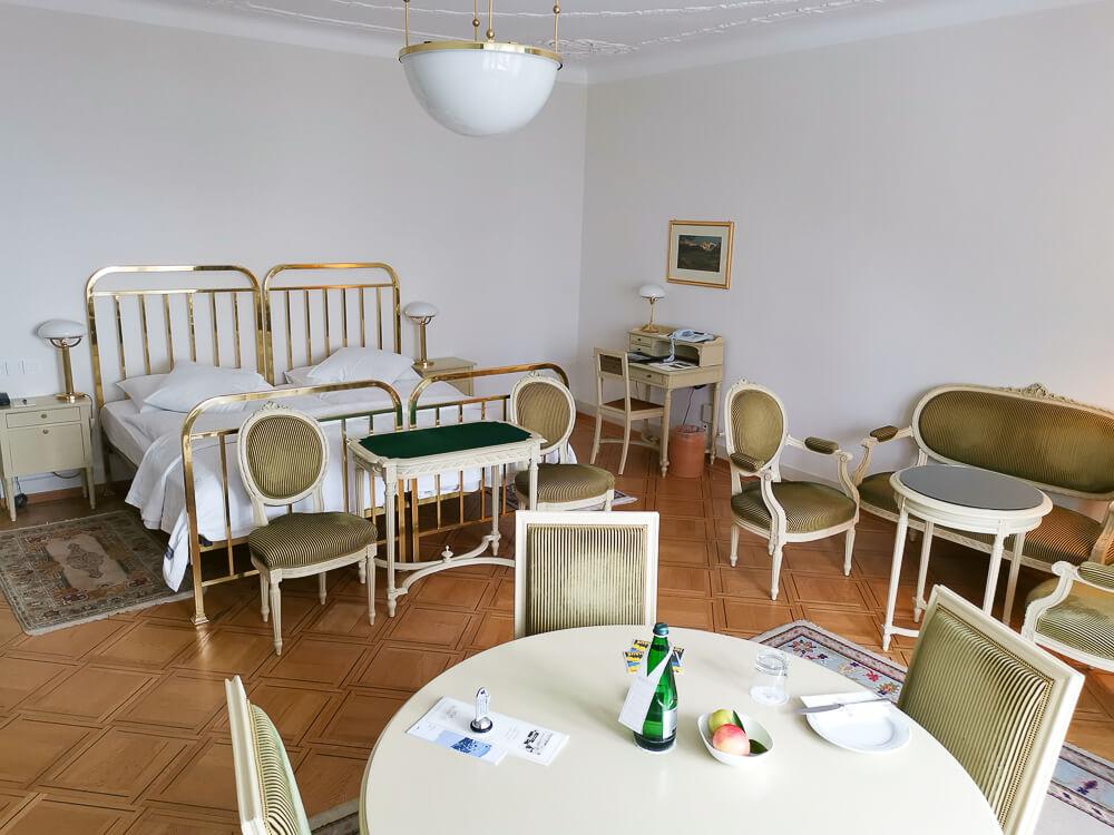 Hotel Waldhaus Sils - Mein Zimmer 1