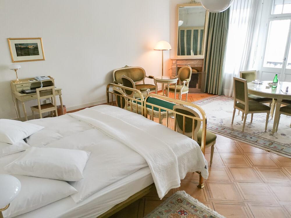 Hotel Waldhaus Sils - Mein Zimmer 4