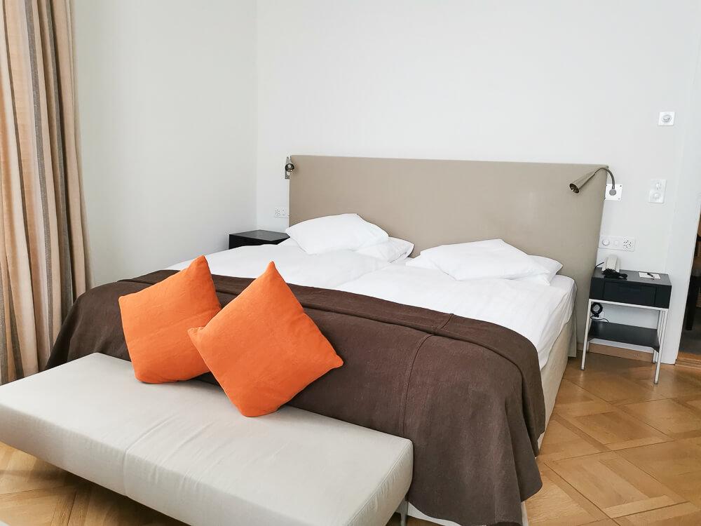 Hotel Waldhaus Sils - Modernes Zimmer