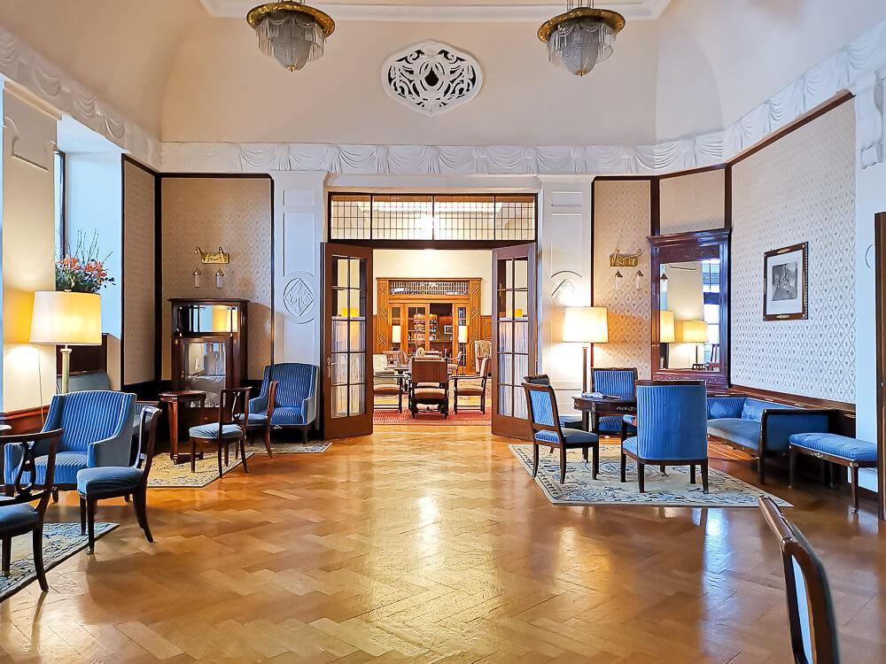 Hotel Waldhaus Sils - Salon 2