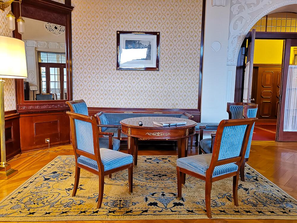 Hotel Waldhaus Sils - Salon