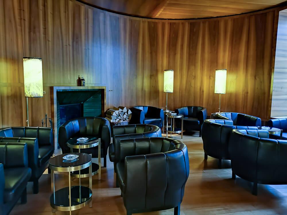 Hotel Waldhaus Sils - Zigarren Lounge