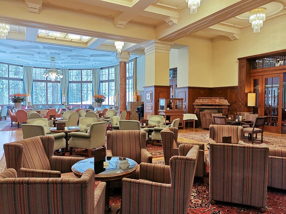 Hotel Waldhaus Sils - großzügige Räumlichkeiten