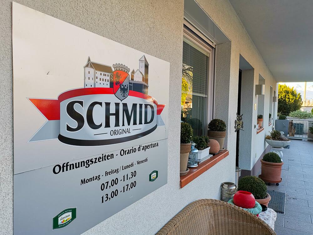 Speck aus Südtirol - Familie Schmid
