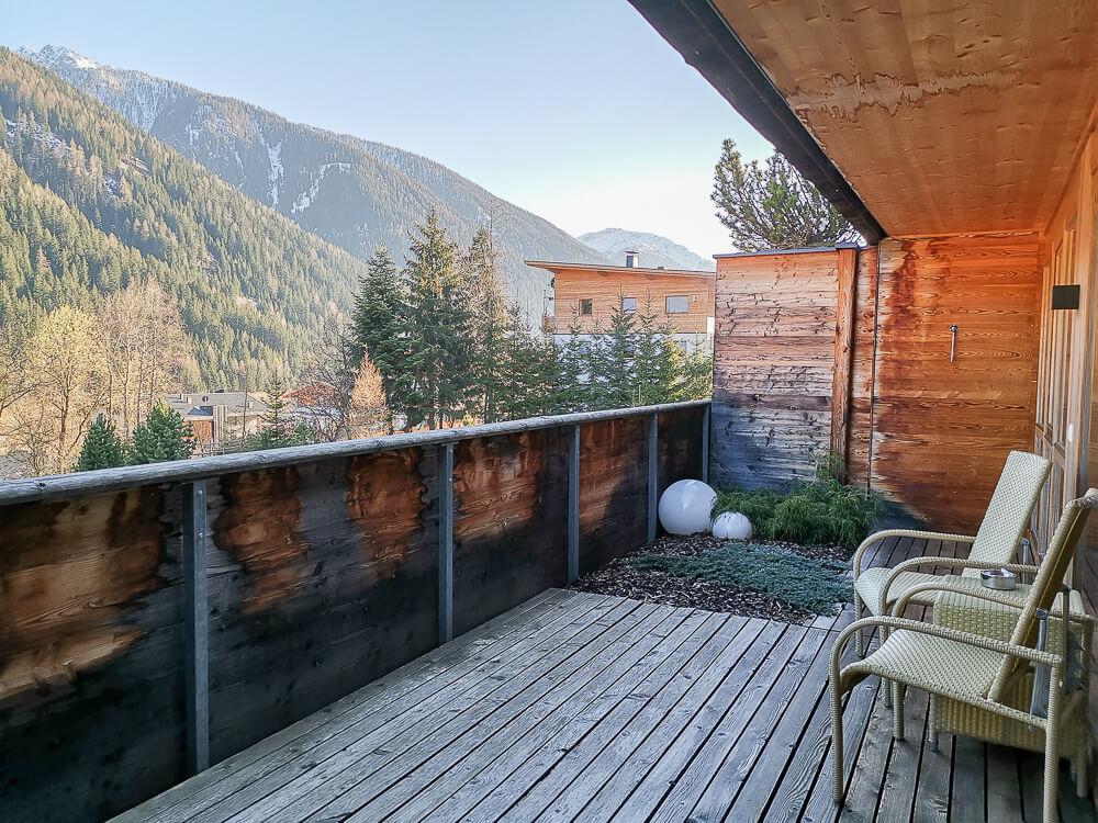 Arosea Life Balance Hotel - üppiger Balkon