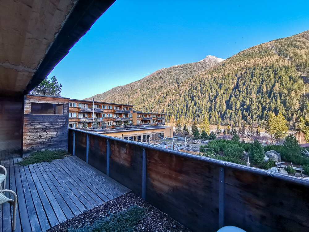 Arosea Life Balance Hotel - Der Blick auf die Berge