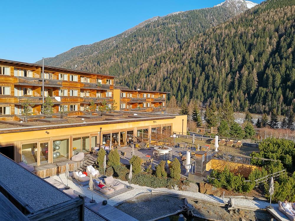 Arosea Life Balance Hotel - Grandiose Aussicht