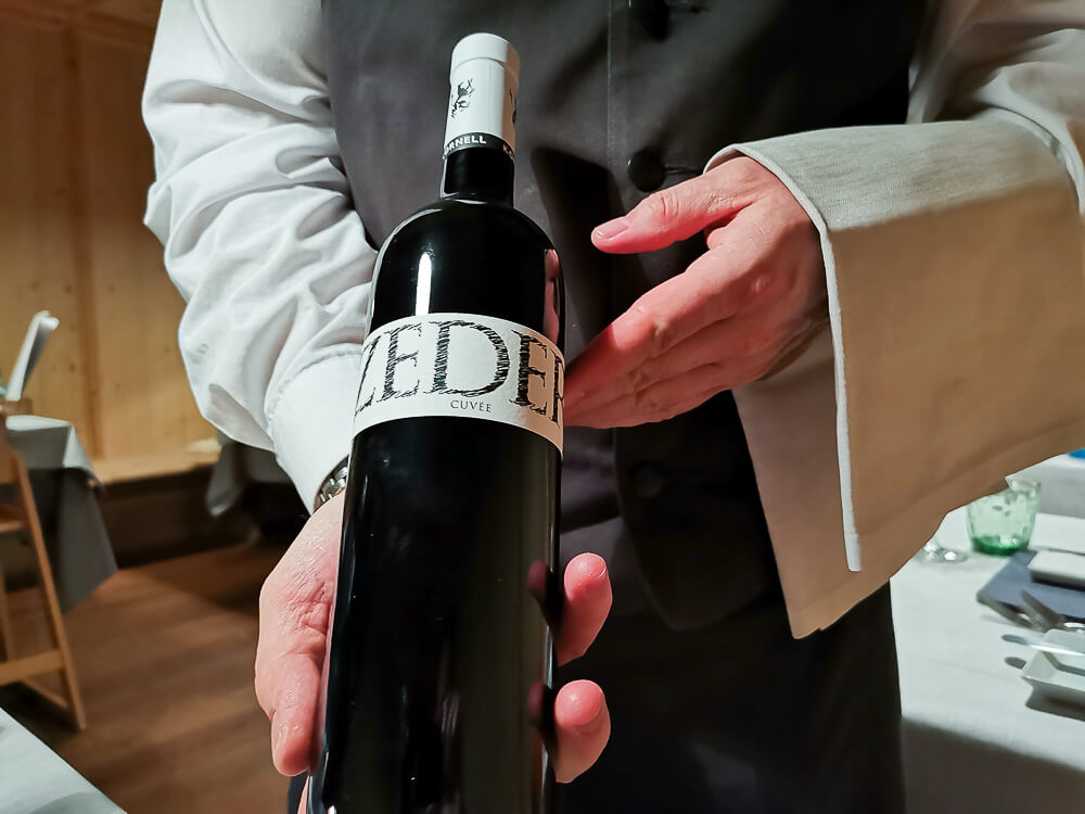 Arosea Life Balance Hotel - ZEDER Cuvee Wein