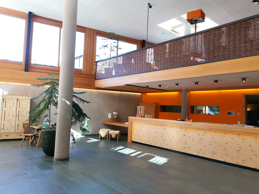 Arosea Life Balance Hotel -großzügige Lobby