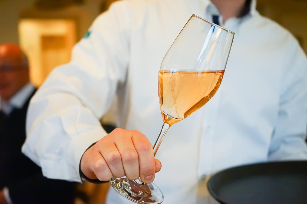Fährhütte14 Rottach-Egern - Champagner Aperitif