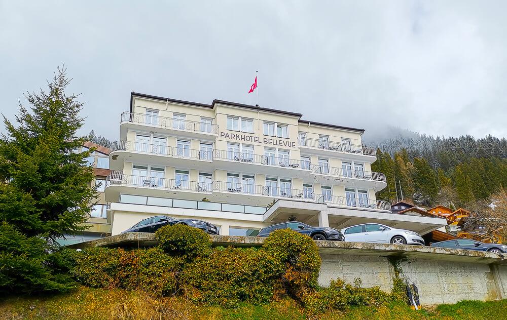 Parkhotel Bellevue & Spa Adelboden - Aussenansicht
