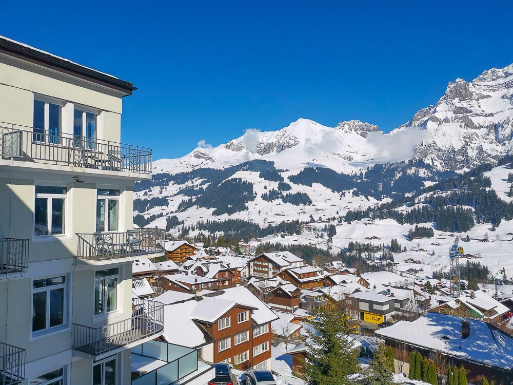 Parkhotel Bellevue & Spa Adelboden - Aussicht 1