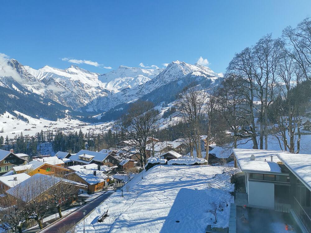 Parkhotel Bellevue & Spa Adelboden - Aussicht 2