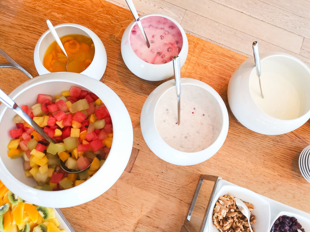 Parkhotel Bellevue & Spa Adelboden - Gourmet HP Joghurtprodukte