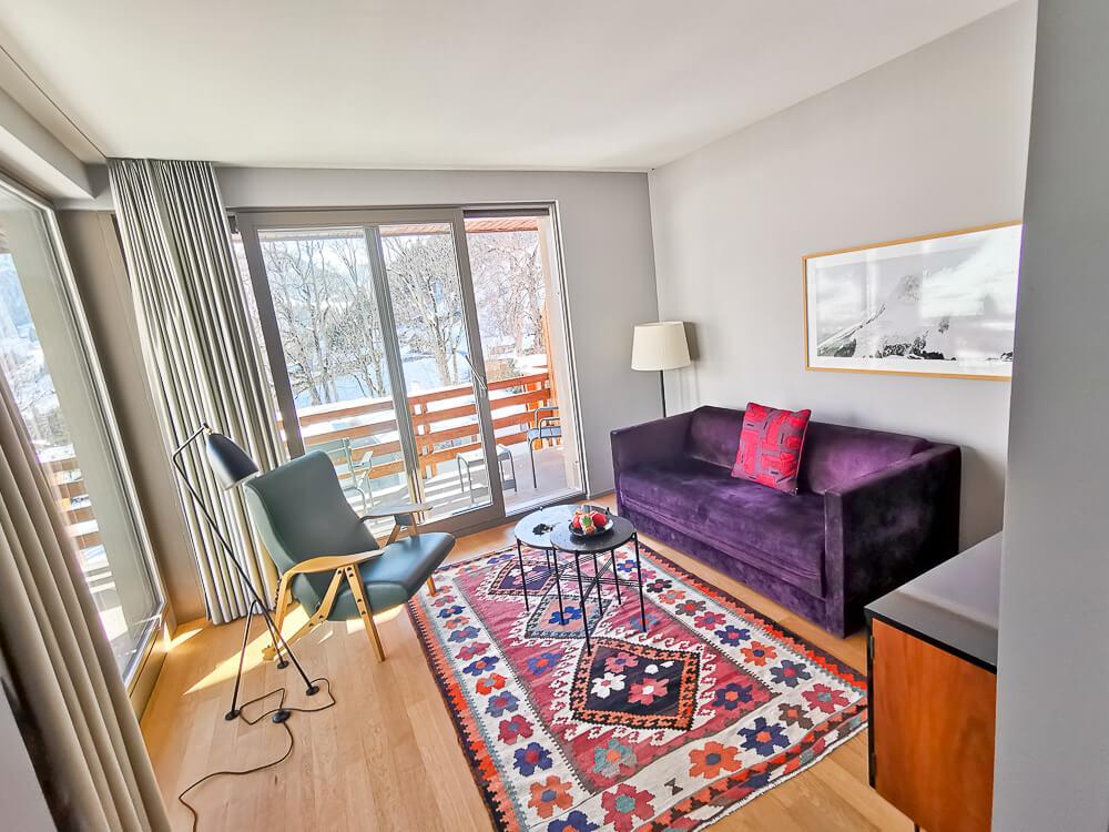Parkhotel Bellevue & Spa Adelboden - Zimmer 1