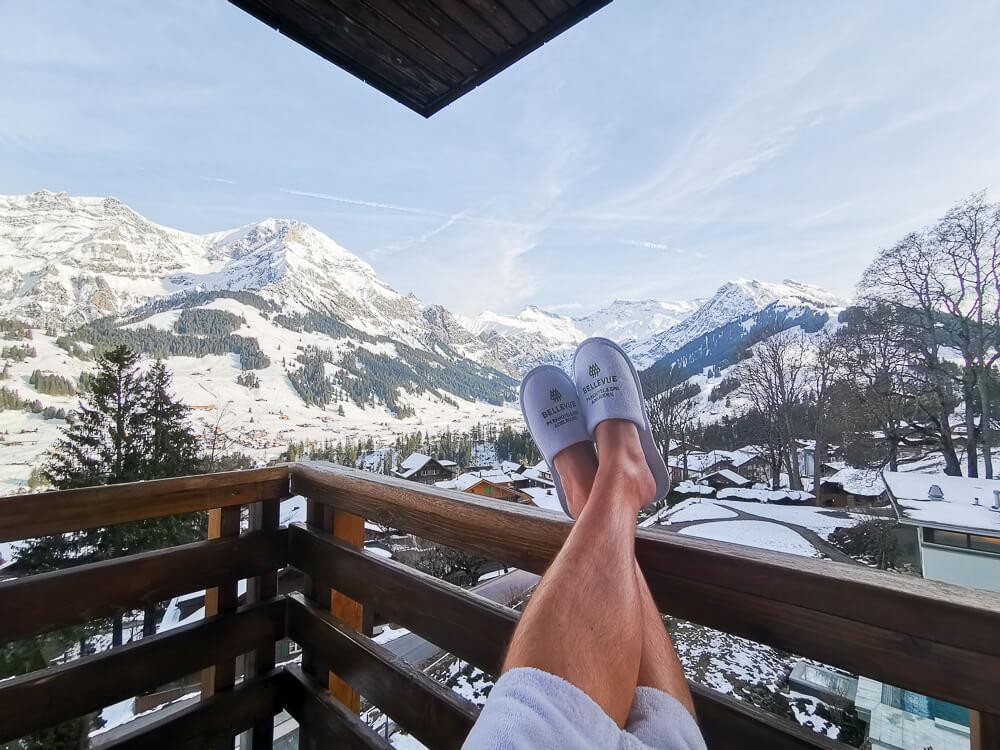 Parkhotel Bellevue & Spa Adelboden - entspannen mit Ausblick