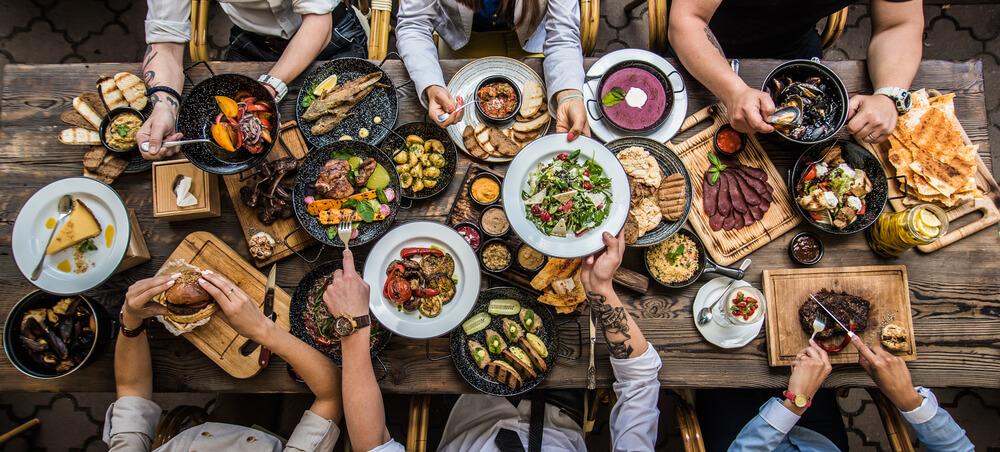 Schmackhafte Gerichte überzeugen