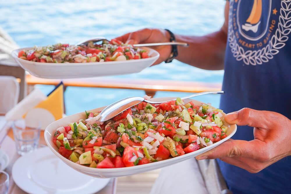 SCIC Sailing - Frische Salate