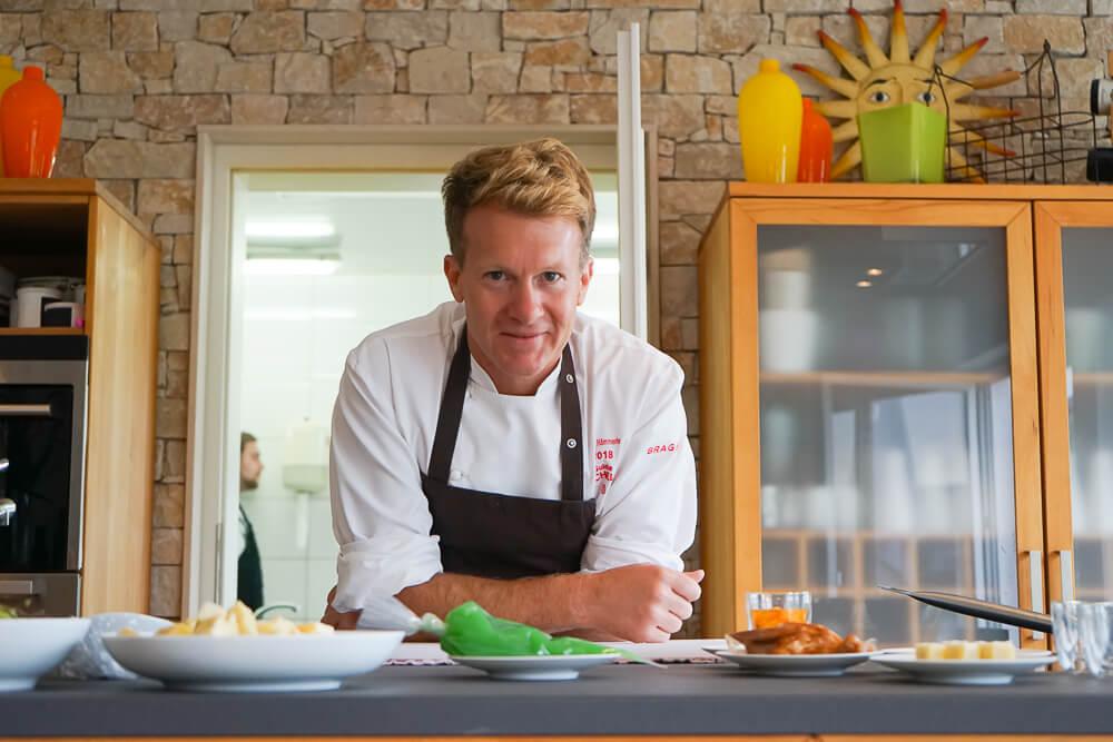Cliff Hemmerle in seinem Restaurant
