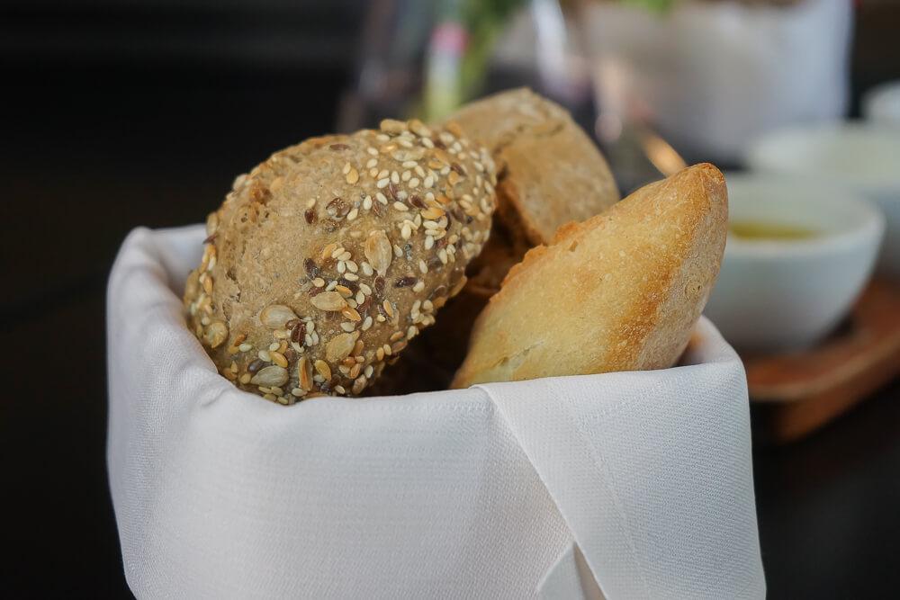Esplanade Restaurant Saarbrücken - köstliches Brot