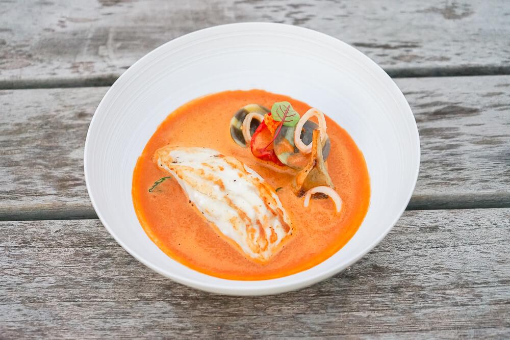 Hämmerles Restaurant - großartige Fischsuppe