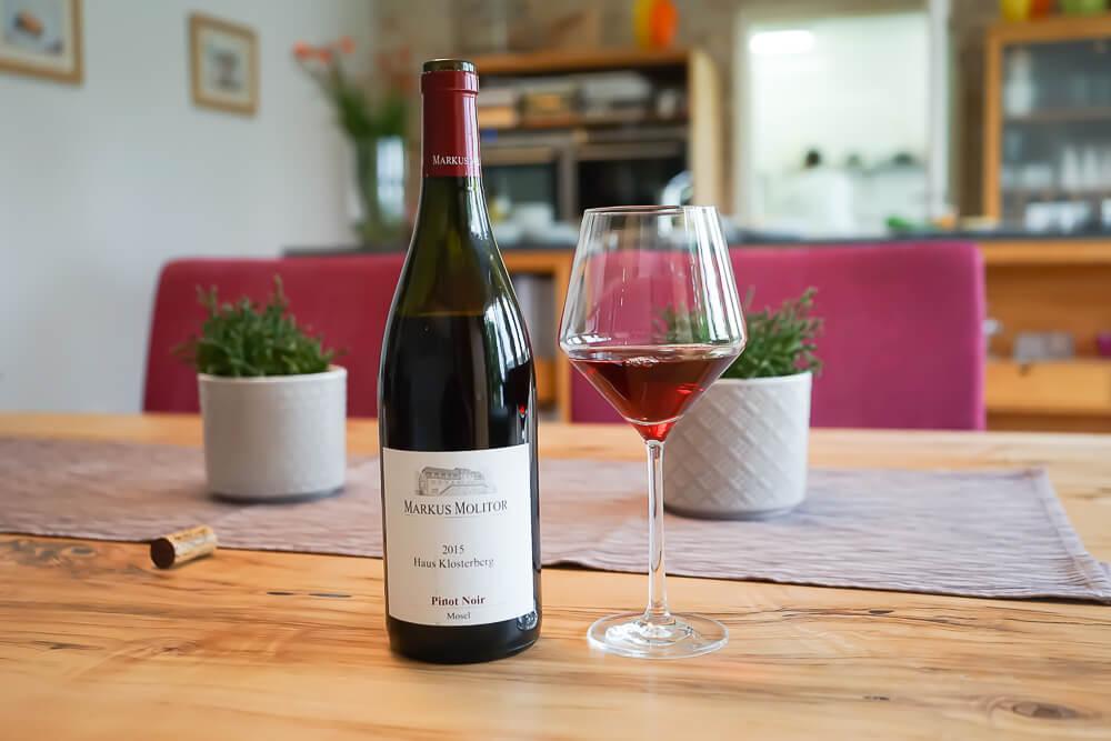 Hämmerles Restaurant - tolle Weinkarte, wie dieser Molitor