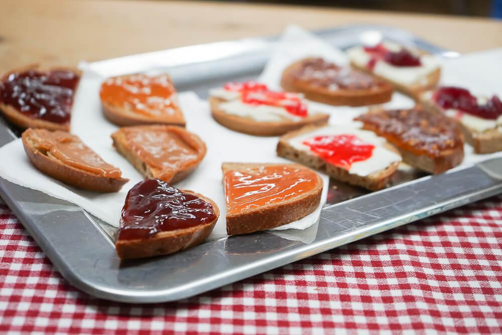 Marmeladenverkostung mit Christine Breyer