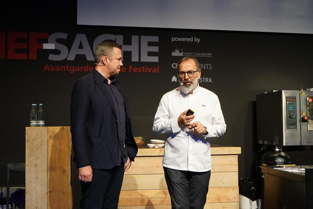 Norbert Niederkofler - Kochshow auf der Chefsache 2019 1