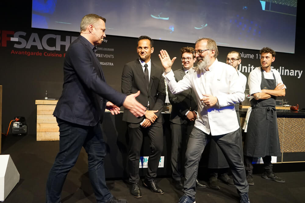 Norbert Niederkofler - Kochshow auf der Chefsache 2019 6