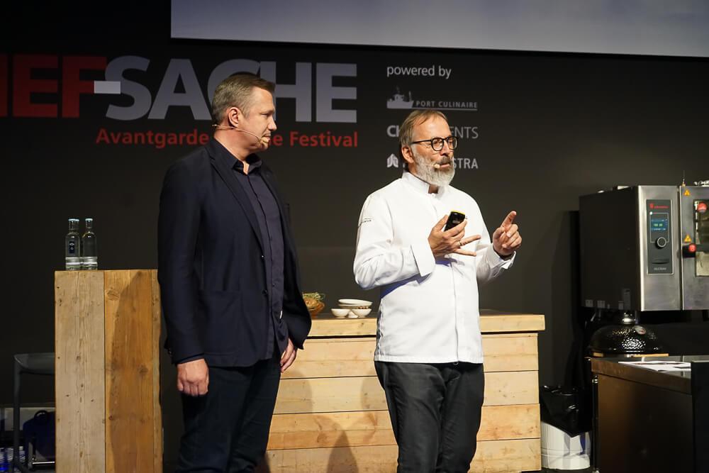 Norbert Niederkofler - Kochshow auf der Chefsache 2019