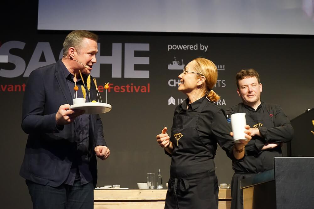 Tanja Grandits - Chefsache 2019 in Düsseldorf 2