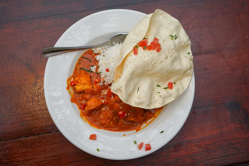 Café Roux und bestes Malay Fish Curry