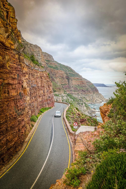 Chapmens Peak Drive - großartige Aussicht