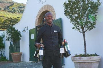 Constantia Glen Weingut - Auf zur Weinprobe