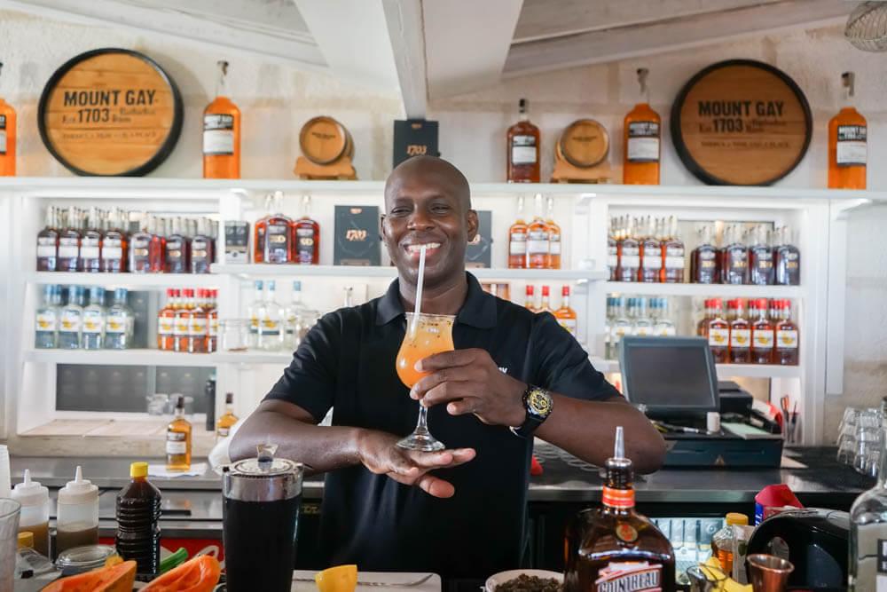 Rum und Cocktails in der Karibik