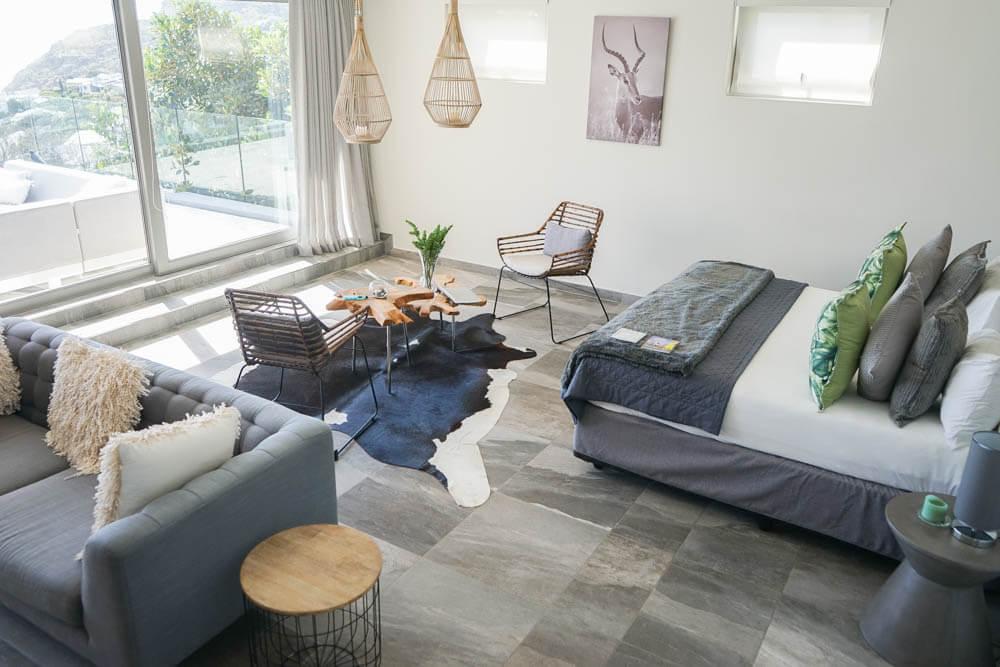 SOUL on Llandudno - Schlaf und Wohnzimmer