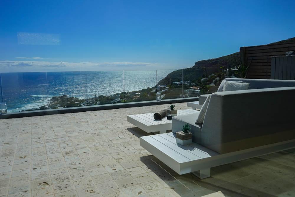 SOUL on Llandudno - relaxen und träumen auf der Terrasse