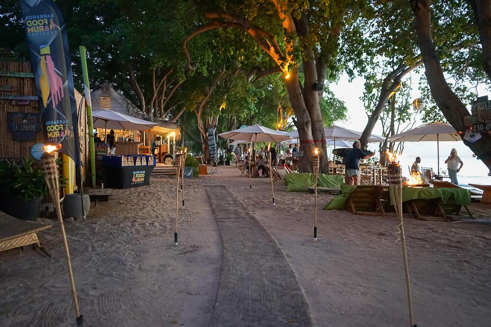 La Cabane, Barbados - Eingang