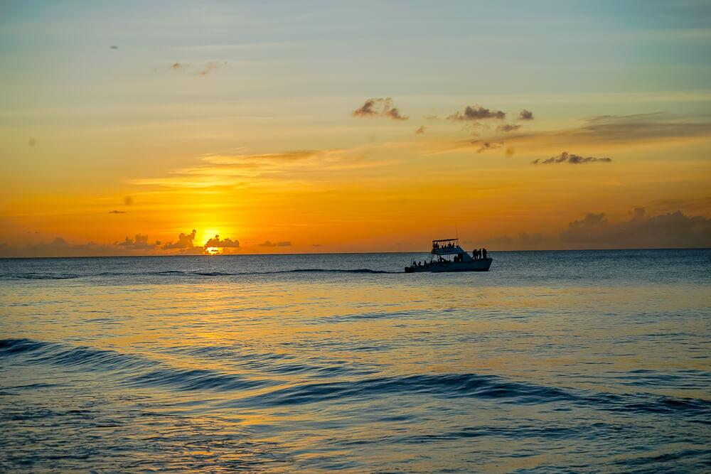 La Cabane, Barbados - stimmungsvoller Sonnenuntergang