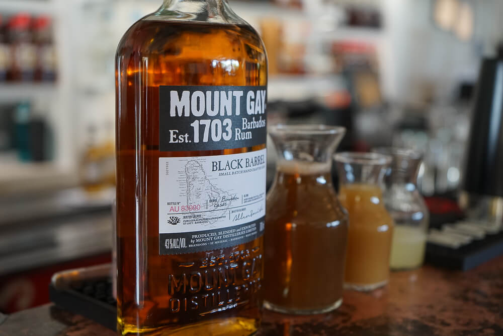 Mount Gay Rum, Barbados - Mount Gay Black Barrel
