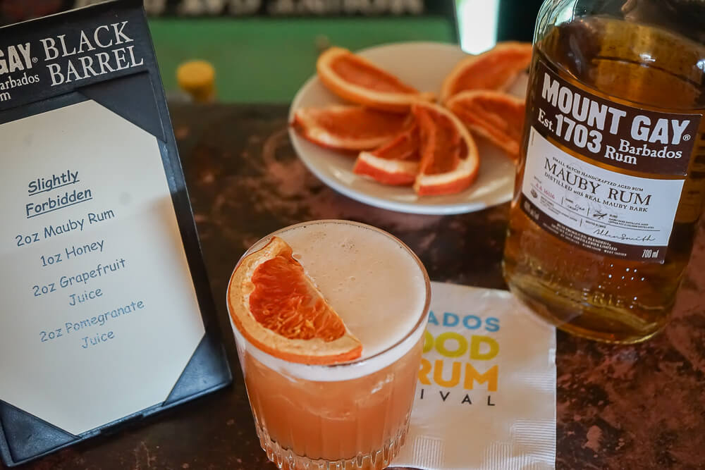 Mount Gay Rum, Barbados - fertiger Cocktail