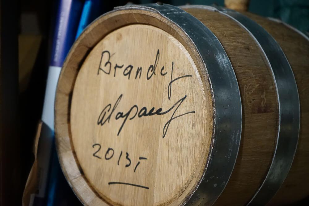 Po tihomu Gastrobar, Sochi - Brandy vom Fass