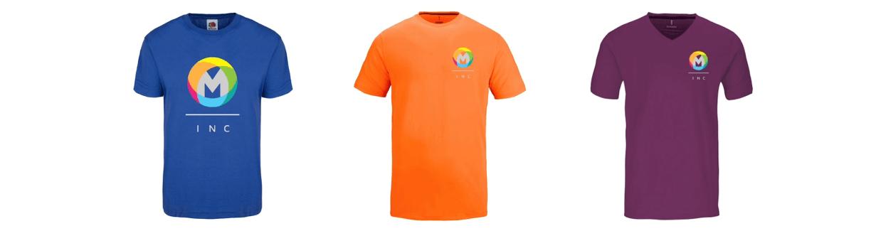 Shirts mit dem eigenen Logo